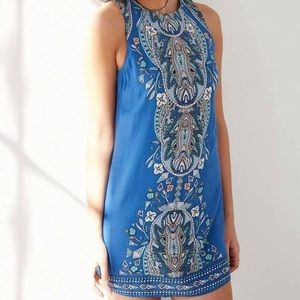 Ecote Guinevere Open-Back Dress